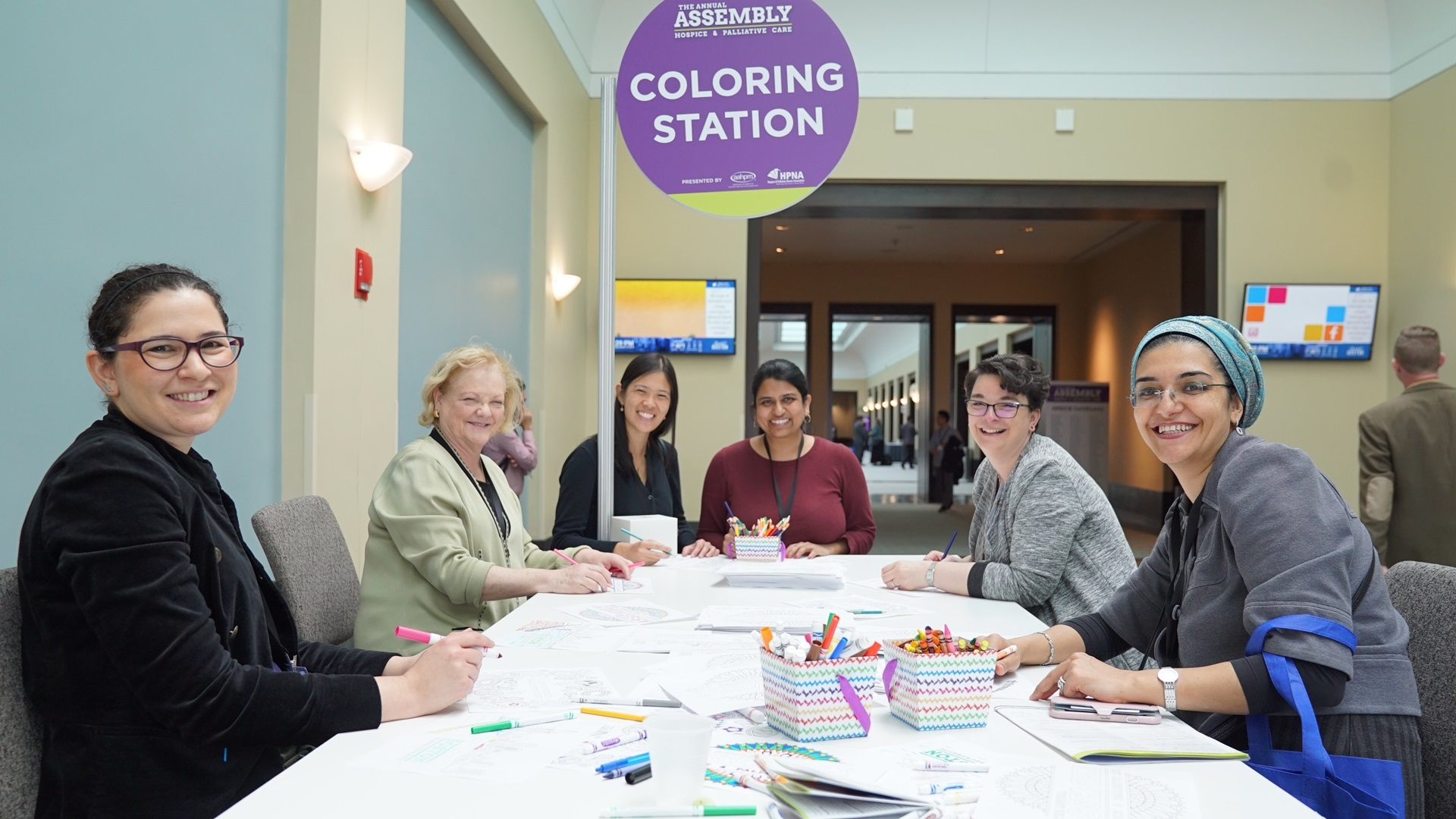 Picture of Coloring Stations